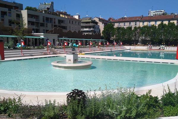 La piscina «bagni misteriosi aperta al pubblico corriere