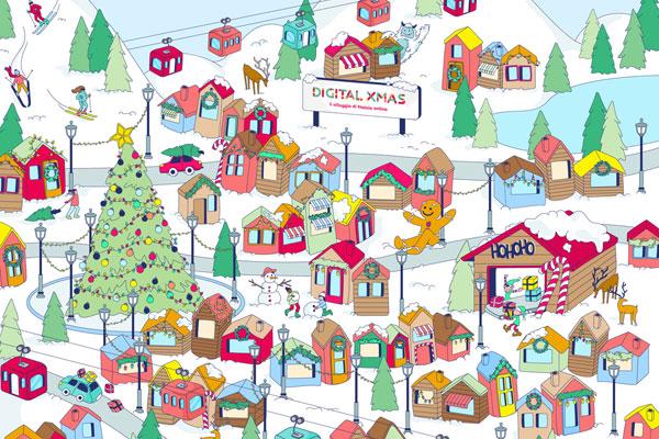 Villaggi Di Natale 2021.Digital Xmas Il Primo Villaggio Di Natale Online Dall 8 Dicembre 2020 Al 6 Gennaio 2021 Web Lombardia